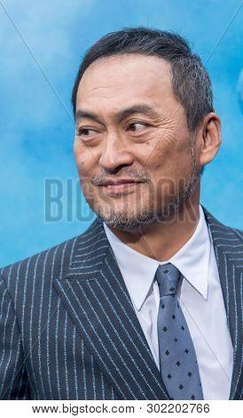 Ken Watanabe arrives at premier of