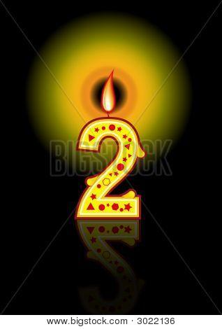 Birthday Candle 2