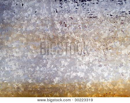 Macro Texture - Metal - Discolored