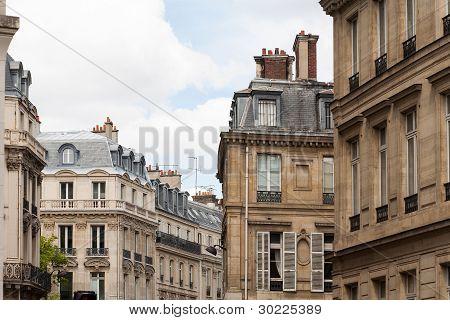 Pariser Stadtansicht von klassischen architure