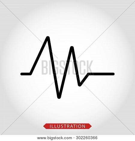 Electrocardiogram Vector & Photo (Free Trial) | Bigstock