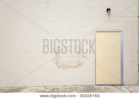 Backgrounds - Blank Urban Wall