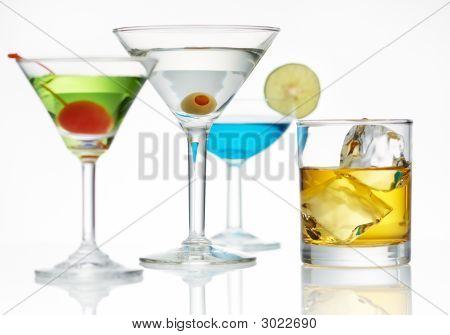 Alcohol line-up