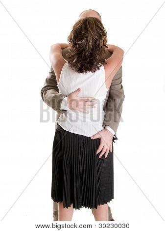 Fashion - Men - Businesswoman Sexual Harassment