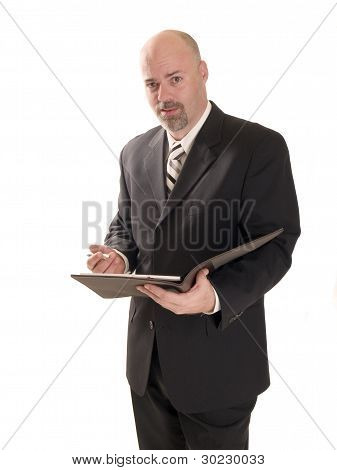 Befuddled Businessman