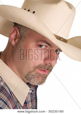 Mode Männer Cowboy Kopfschuss