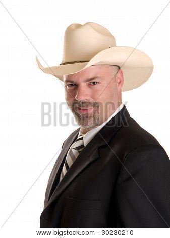 freundliche Cowboy Kaufmann