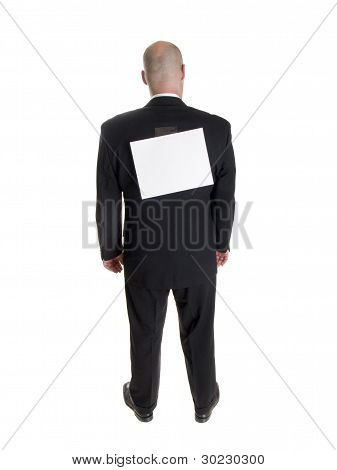 Fashion - Men - Businessman Backside Kick Me