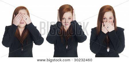 Businesswoman - No Evil