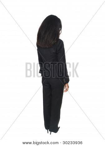 Businesswoman - Rear View