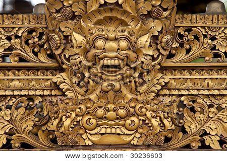 Balinesische Skulptur