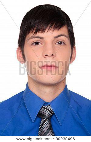 Expressions - Confident Caucasian Businessman