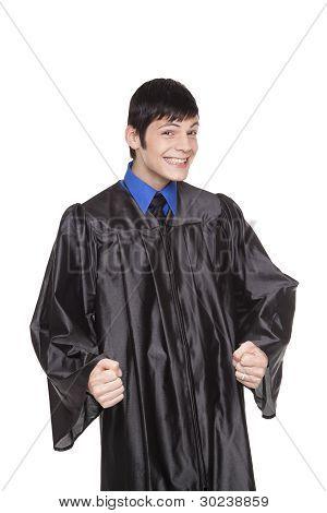 College Graduate - Excited Happy Student