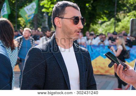 Kyiv, Ukraine 20 May 2019. On Photo Mika Fatalov. Inauguration Of The President Of Ukraine Volodymyr