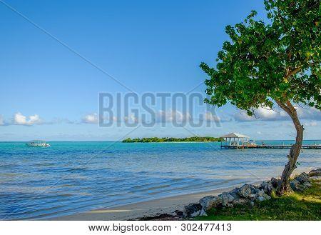 Little Cayman, Cayman Islands, Beach On South Hole Sound