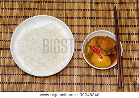 Vietnamese Pork Stew with Hard Boiled Egg