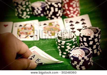 Texas Hold 'Em Big Hand