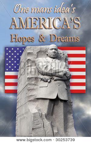 King Memorial, Hopes and Dreams