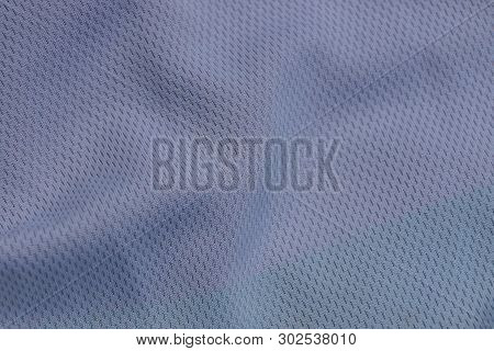 Gray Fabric Texture From A Crumpled Piece Of Cloth