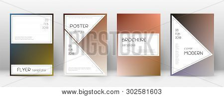 Flyer Layout. Stylish Valuable Template For Brochure, Annual Report, Magazine, Poster, Corporate Pre