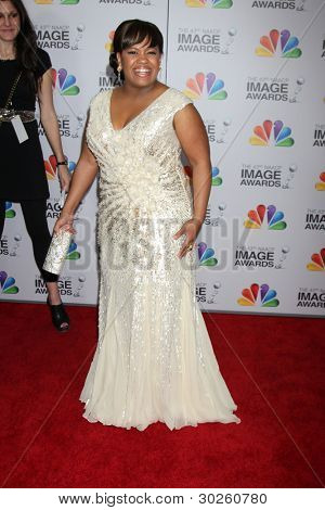 .LOS ANGELES - FEB 17:  Chandra Wilson arrives at the 43rd NAACP Image Awards at the Shrine Auditorium on February 17, 2012 in Los Angeles, CA.