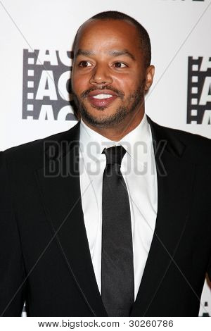 LOS ANGELES - FEB 18:  Donald Faison arrives at the 62nd Annual ACE Eddie Awards at the Beverly Hilton Hotel on February 18, 2012 in Beverly Hills, CA