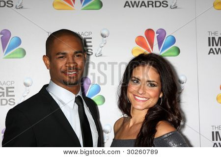 .LOS ANGELES - FEB 17:  Damon Wayans Jr. arrives at the 43rd NAACP Image Awards at the Shrine Auditorium on February 17, 2012 in Los Angeles, CA.