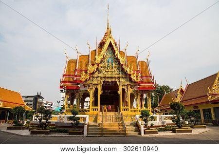 Mahabut Temple, Wat Maha But Temple - Mae Nak Shrine, Bangkok, Thailand