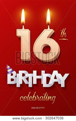 Pleasing Burning Birthday Vector Photo Free Trial Bigstock Personalised Birthday Cards Epsylily Jamesorg
