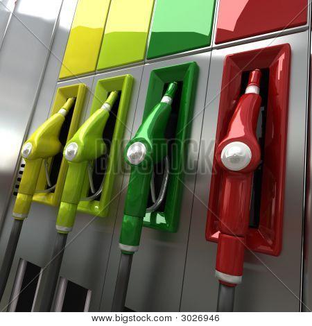 Bombas de Gas colorido