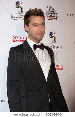 LOS ANGELES - FEB 19:  Lance Bass arrives at the 2nd Annual Hollywood Rush at the Wilshire Ebell on February 19, 2012 in Los Angeles, CA.