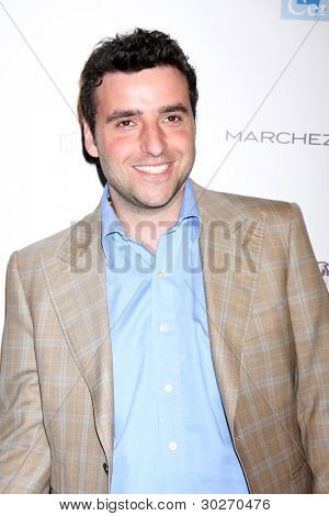 LOS ANGELES - FEB 19:  David Krumholtz arrives at the 2nd Annual Hollywood Rush at the Wilshire Ebell on February 19, 2012 in Los Angeles, CA.