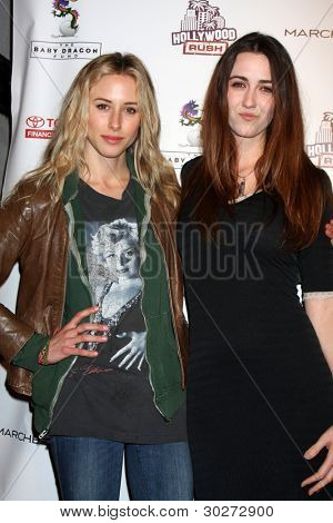 LOS ANGELES - FEB 19:  Gillian Zinser; Madeline Zima arrive at the 2nd Annual Hollywood Rush at the Wilshire Ebell on February 19, 2012 in Los Angeles, CA.