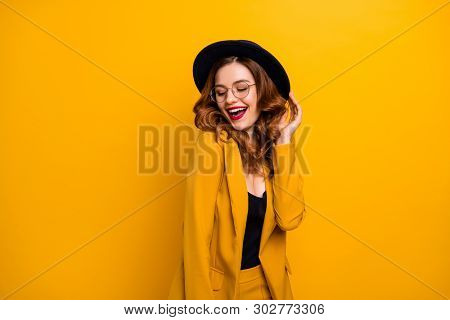 Portrait Of Her She Nice-looking Charming Cute Attractive Lovely Lovable Fascinating Fashionable Chi