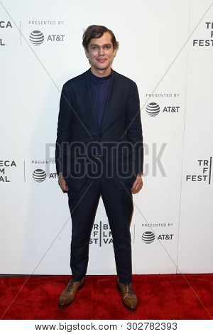 NEW YORK - APR 26: Ellar Coltrane attends the premiere of 'The Circle' during the 2017 Tribeca Film Festival at the at BMCC Tribeca PAC on April 26, 2017 in New York City.