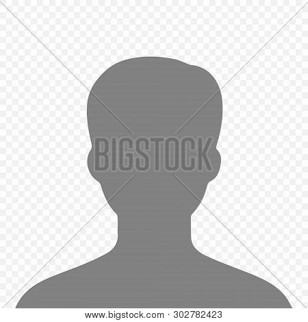 Social Media Avatar User Icon . Template For Your Design