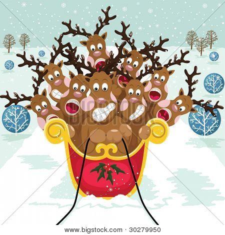 Cute Christmas Reindeer