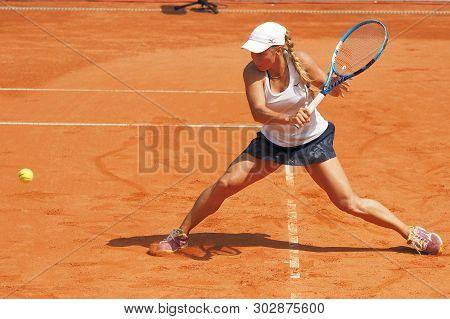Nuremberg, Germany - May 24, 2019: Kazach Tennis Player Yulia Putintseva At The Euro 250.000 Wta Ver