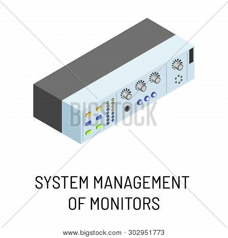 System Management Of Monitors Isolated Electronic Portable Device