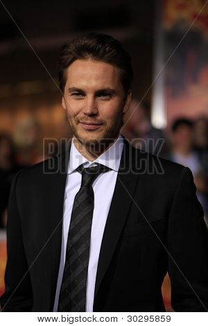 LOS ANGELES, CA - FEB 22: Taylor Kitsch at the world premiere of 'John Carter' on February 22, 2012 at Regal Cinemas in downtown in Los Angeles, California