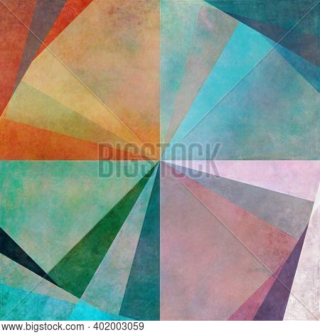 Earthy geometric background image and useful design element