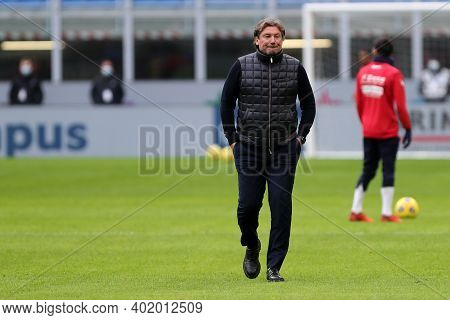 Milano, Italy. 03th January 2021. Giovanni Stroppa, Head Coach Of Fc Crotone  During The Serie A Mat