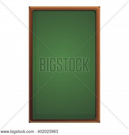 Vertical Chalkboard Icon. Cartoon Of Vertical Chalkboard Vector Icon For Web Design Isolated On Whit