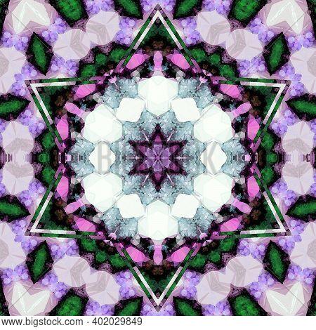 Mandala Ultra Violet Floral Arabesque, Oriental, Coloring, Book Page Mandala, Indian Mandala For Ban