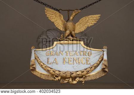 Gran Teatro La Fenice, Opera House In Venice, Italy, Europe