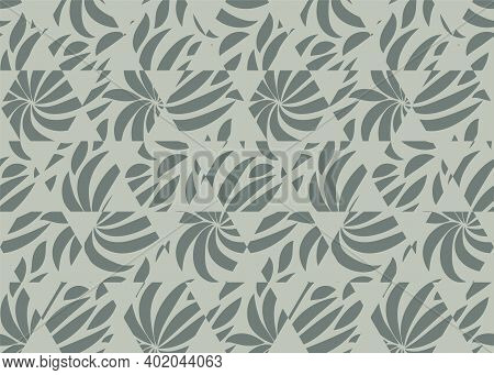 Decorative Geometric Seamless Pattern. Wrapping Papper Vector