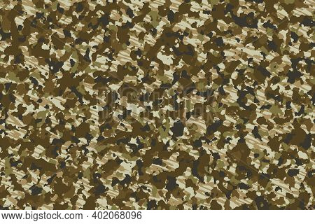 African Grasslands Camouflage, New Design Patterns That Never Go Out Of Fashion. Can Be Used In Camo