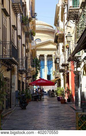 The Historic Center Of Palermo, Via Bara All'olivella