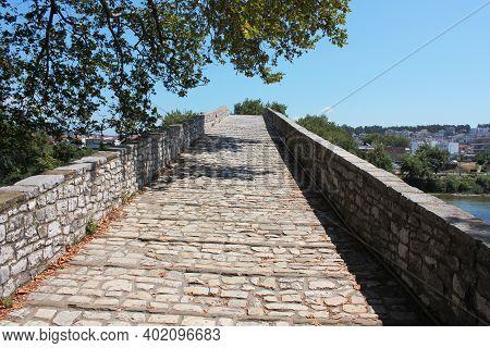 Bridge Of Arta At Arachthos River Epirus Greece