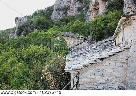 Monastery Of Agia Paraskevi At Vikos Gorge Monodendri Greece